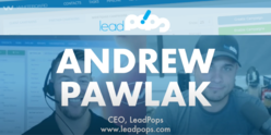 Video of Whiteboard President Kevin Ducey interviewing Andrew Pawlak of leadPops